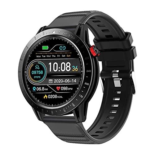 MARSPOWER Reloj Inteligente Hombres y Mujeres CKG Fitness Watch para teléfonos iOS y con Monitor de frecuencia cardíaca Continua