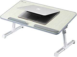BZN Portable Folding Adjustable Lifting Small Table Desk Holder Stand for Laptop/Notebook, Support 17 inch and Below Lapto...