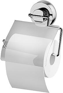 RIDDER 12100000Papier WC Support à Ventouse, Plastique, Transparent, 16,5x 3,4x 17cm