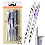 Mr. Pen- 0.7 Mechanical Pencil, 2 Pack, Mechanical Pencil with Lead and Eraser, Pencils Mechanical...