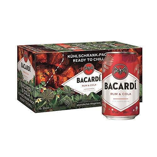 BACARDI & COLA Kühlschrank-Pack (8 x 0,33 l)