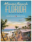 Poster Erickson–Miami Beach Metall blechschild