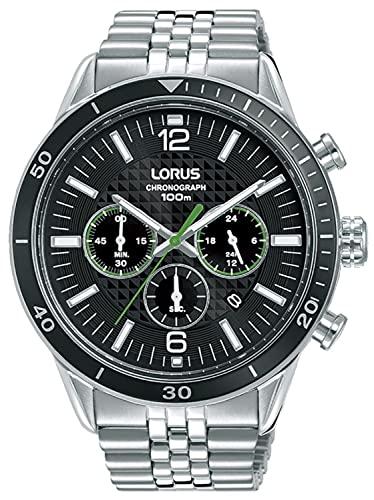 Lorus Sport Man Reloj para Hombre Analógico de Cuarzo con Brazalete de Acero Inoxidable RT325JX9