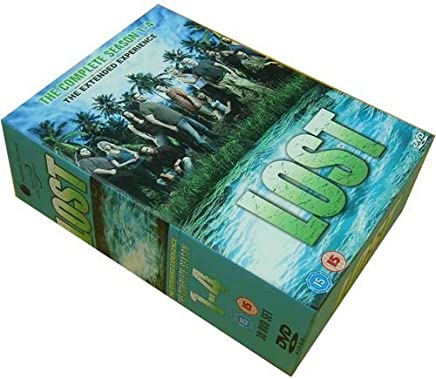LOST THE COMPLETE SEASON 1-4 30 DVD LIMITED EDITION BOX SET