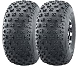 Set of 2 Utility ATV Tires 22.5x10-8...
