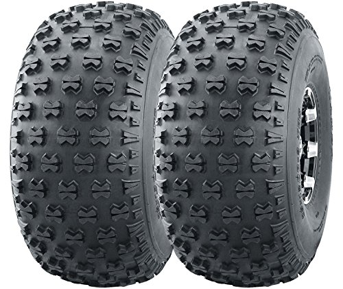 Set of 2 Utility ATV Tires 22.5x10-8 22.5x10x8 Heavy Duty