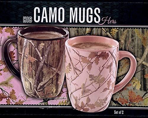 HIS & HERS CAMO COFFEE MUG SET