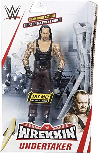 WWE WREKKIN - Undertaker - Actionfigur komplett mit Wrackzubehör, ca. 15 cm
