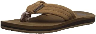 Quiksilver Unisex-Child Carver Suede Youth Kids Flip Sandal