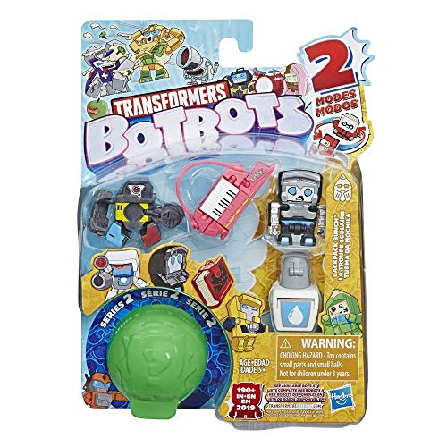 Transformers BotBots Team 5er-Pack, Backpack Bunch, geheime 2-in-1 Figuren
