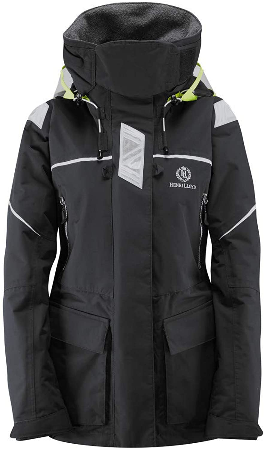 Henri Lloyd Womens Freedom Offshore Jacket Coat New Red. Waterproof & Breathable  OPTIVISION Hood System