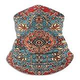 KDU Fashion Adult Headband,Fascia per Sciarpa Persiana del Nord-Ovest Curdo Antico Bidjar, Bellissime Ghette per Il Collo per La Corsa Sportiva,26x30cm