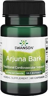 Sponsored Ad - Swanson Full Spectrum Arjuna Bark (10:1) 40 Milligrams 60 Capsules