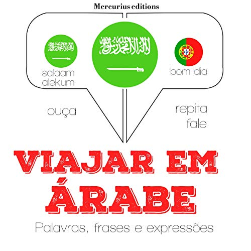 Viajar em árabe audiobook cover art