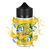 IMECIG Vape Liquid Hielo Plátano Ecig Vape Juice 70/30 E Líquido para todos los cigarrillos electrónicos de llenado corto para cigarrillos electrónicos Vape Starter Kits Eliquid 100ml Sin nicotina