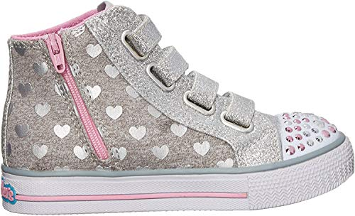 Skechers Twinkle Toes Light Up Doodle Day 10659NGYPK, Turnschuhe - 22 EU