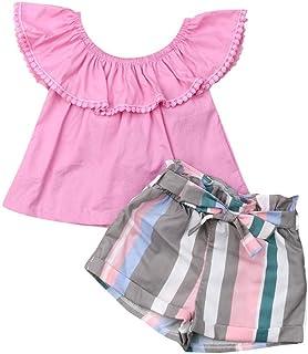 Conjunto de Pantalones Cortos para bebés y niñas, diseño Floral, Color Amarillo
