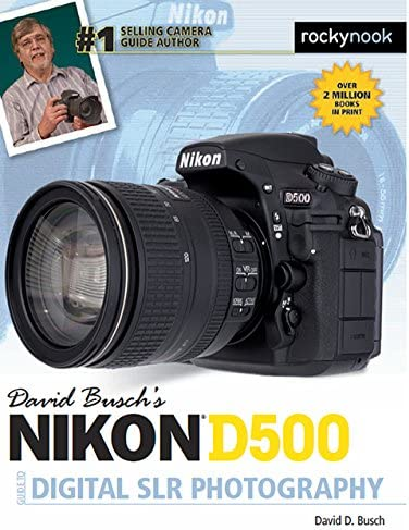 David Busch s Nikon D500 Guide to Digital SLR Photography The David Busch Camera Guide Series product image