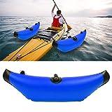OKBYY Estabilizador Inflable para Kayak - 1 Pieza Estabilizadores inflables de PVC para Kayak Canoa Boya Flotador Estabilizadores de Agua estancada para Kayak Canoa(Azul)