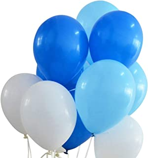 Amazon.es: globos azules y blancos