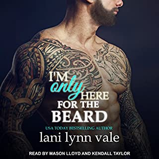 I'm Only Here for the Beard audiobook cover art