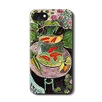 iPhoneXSmax アンリ マティス 金魚 277 スマホカバー 名画 絵画 人気 丈夫 耐衝撃 かわいい レトロ 持ちやすい