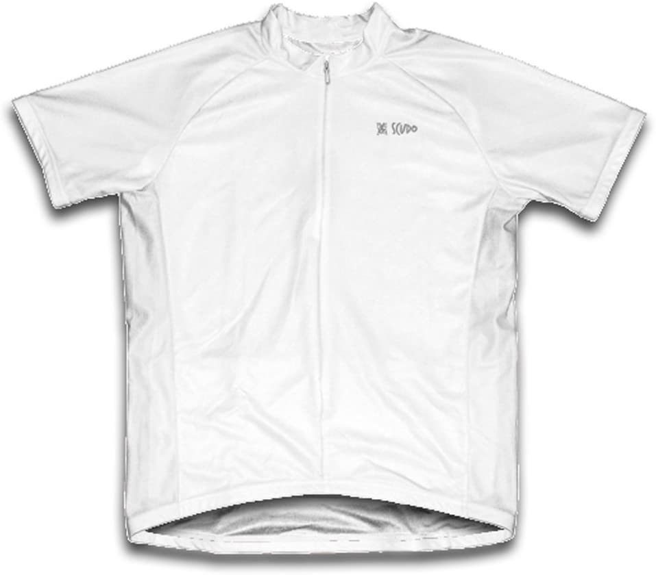 ScudoPro White Short Ranking TOP4 Sleeve Over item handling Men for Jersey Cycling