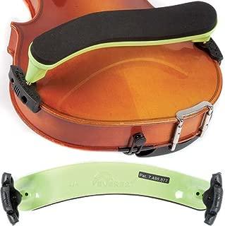 Everest ES4G ES Series 4/4 Violin Adjustable Shoulder Rest - Neon Green