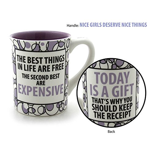 Today Is A Gift Coffee Mug 16-ounce Lorrie Veasey Inspirational