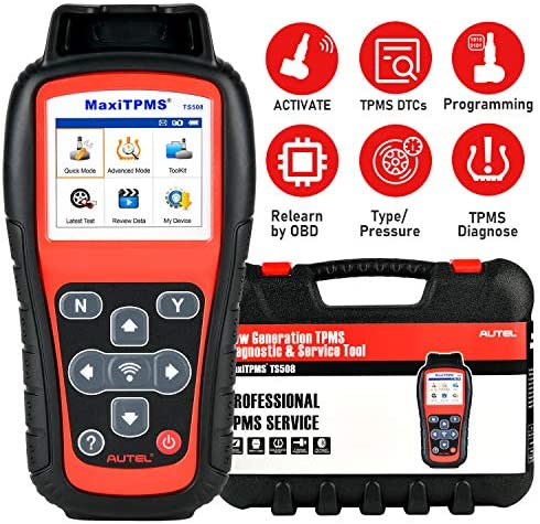Autel MaxiTPMS TS508 TPMS Relearn Tool 2021 Newest Upgraded of TS501 TS408 Program MX Sensors product image