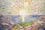 1art1 Edvard Munch - Die Sonne, 1910 XXL Poster 120 x 80 cm