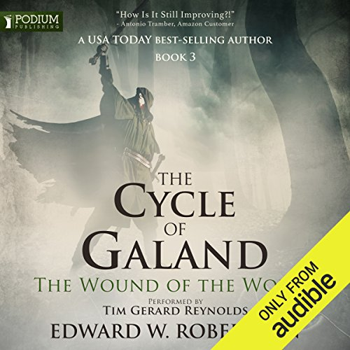 The Wound of the World audiobook cover art