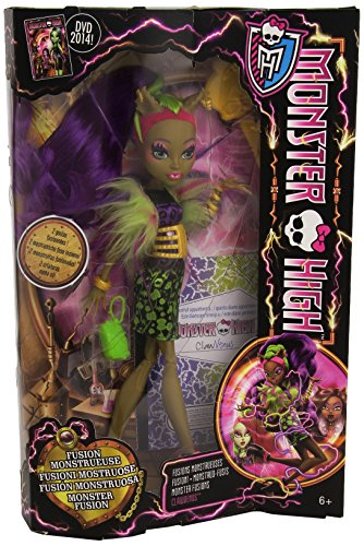Monster High–ccb36–Puppe Ankleidepuppe–Fusion Monströse–Fusion Clawdeen/Venus