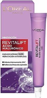 Crema para ojos anti-líneas de expresion Revitalift Ácido Hialurónico de L'Oréal Paris, 15 ml