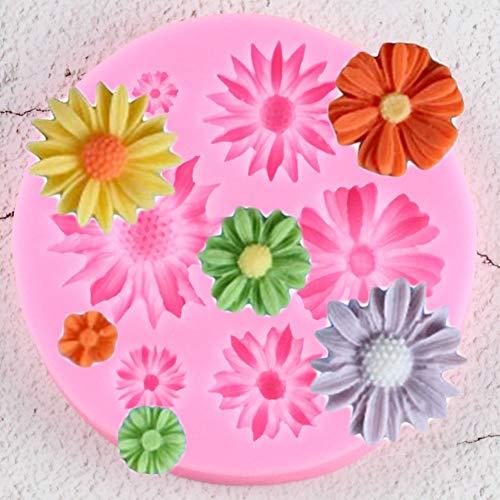 VIOYO 3D bloem siliconen mal fudge ambachtelijke taart snoep chocolade decoratie schimmel sorbet bakgereedschap