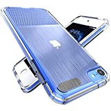 Laranol Case for iPod Touch 7 / iPod Touch 6 / iPod Touch 5,5th 6th 7th Generation,Two Kinds of Textures, Soft and Transparent TPU Material, Simple and Portable.