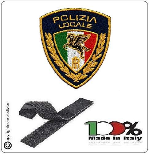 GS1 Parche Bordado con Velcro policía Locale Nuevo Logotipo 2020 Art. PL-T.