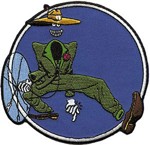 Grateful Dead Garcia Shakedown Ghost Dude Guy, Officially Licensed Artwork, Iron-On/Sew-On, Embroidered PATCH PARCHE