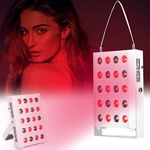 EFGSbed Rote Light Rotlichtlampe, Rotlichttherapie, 20 LED Rote Bulb Massage, Door Hanger, LED Licht Heizungs Lampen, Haushalts Bulb Für Anti-Aging, Schmerzlinderung