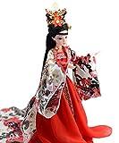 Décor Oriental, poupée Chinoise avec Costume Antique, poupées en Soie, Fille de poupée de 12,5 Pouces pour la décoration de Table
