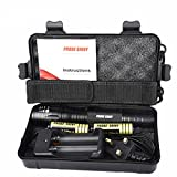 X800 XML T6 LED Zoom Tactical Military Grade Charger Flashlight Kit Case Super Torch Set rechargeable