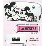 カミオジャパン ミッキー&ミニー ディズニー テープスラス ペンケース 07920