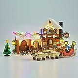 LIGHTAILING Conjunto de Luces (Creator Taller de Papá Noel) Modelo de Construcción de Bloques - Kit de luz LED Compatible con Lego 10245 (NO Incluido en el Modelo)