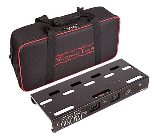 Voodoo Lab Dingbat Pedalboard mit Pedalboard mit Pedal Power 2 PLUS Small schwarz