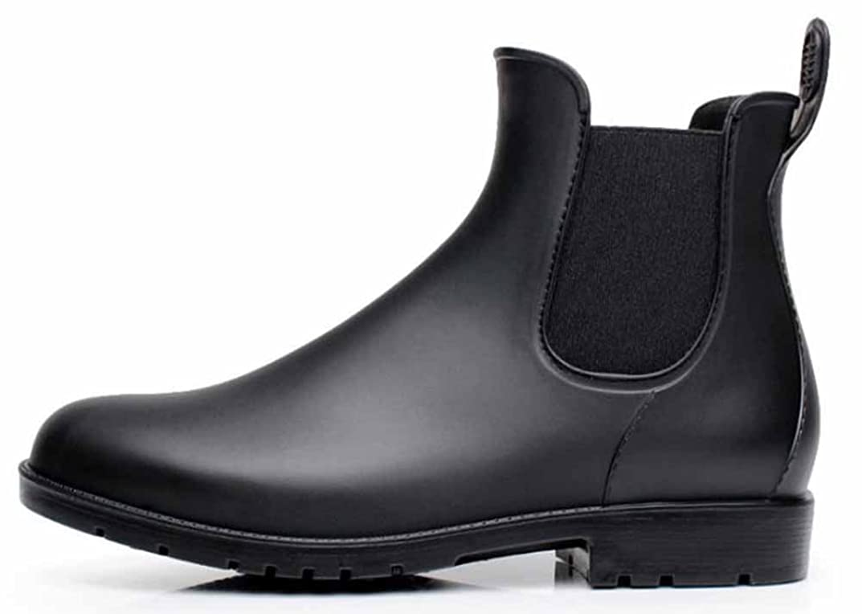 不毛思慮深い倍率[EmiShoes] レインシューズ レインブーツ メンズ レディース ショット雨靴 短靴 男女兼用 おしゃれ 晴れの日にも履きたい 快適 防水 耐滑