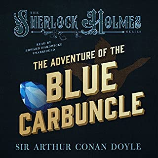 Sherlock Holmes: The Adventure of the Blue Carbuncle audiobook cover art