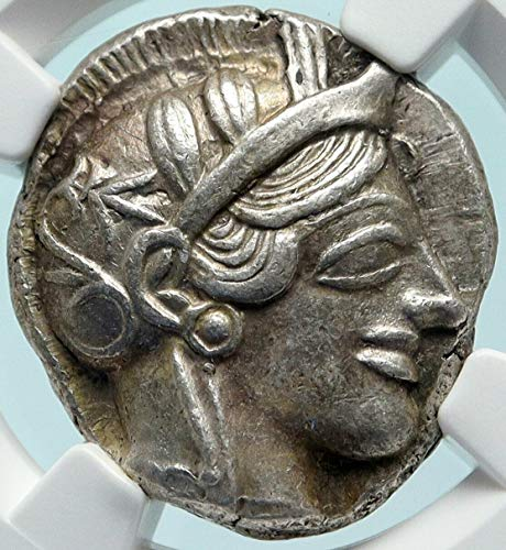1 GR ATHENS Greece 440BC Ancient AR Greek TETRADRACHM Tetradrachm...