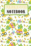 Pineapple Notebook: Funny Pineapple Notebook | Logbook for Fruits Lovers | Cute Lines Journal | Lined paper For Food Lover | For Journaling | Note ... and Kids | Nice Christmas or Birthday Present