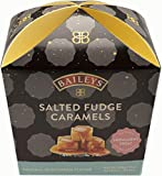 Meltingly delicious handmade made salted caramels fudge infused with the flavor of Baileys Irish Cream Contains 20-22 individually wrapped pieces Handcrafted in Scotland to a traditional family recipe