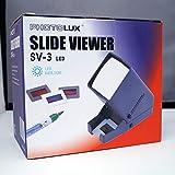 PHOTOLUX SV-3 LED Daylight Desktop Slide Viewer 3x Magnification for 35mm Slides